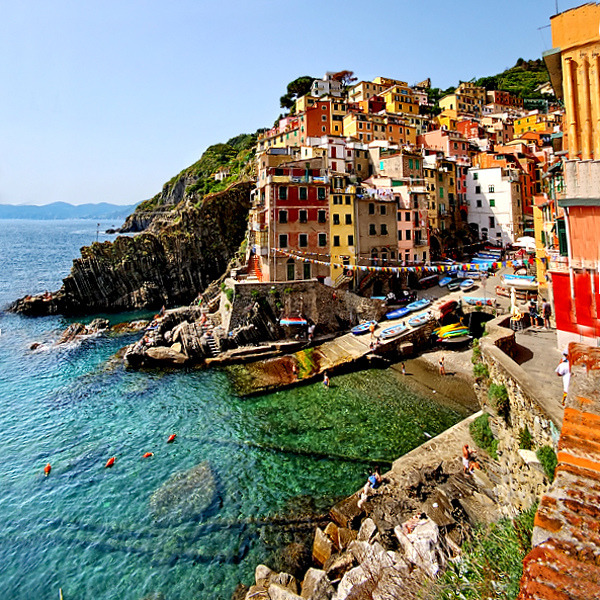 Cinque Terre by Edgar Barany on Flickr.