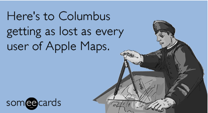 Go get lost in our store. We're celebrating Columbus Day by giving you 15% off everything. Just use the code COLOMBO.