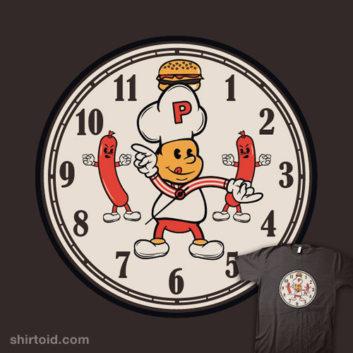 Hamburger Happy Hour by beware1984 is available at Redbubble