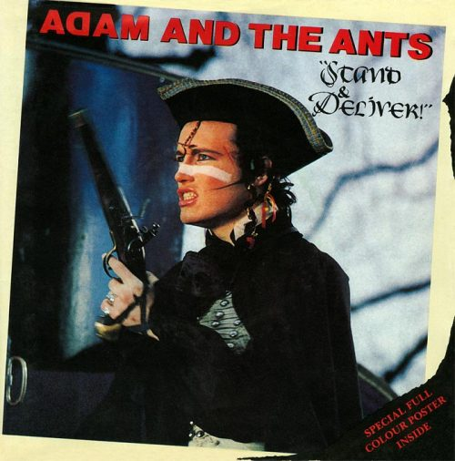 vinyloid:  Adam Ant - Stand & Deliver UK