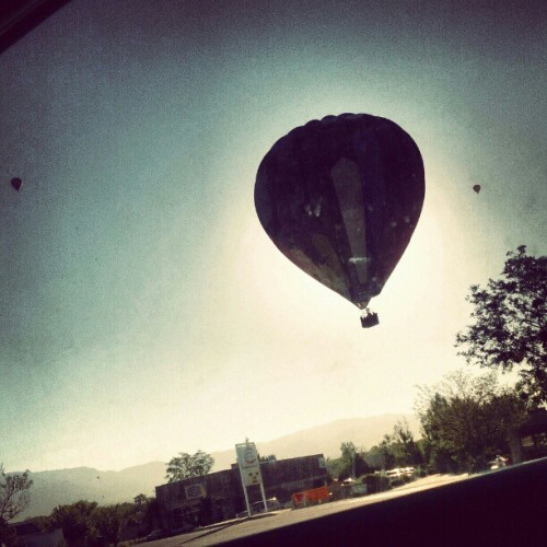 #airballooneclipse  (Taken with Instagram)