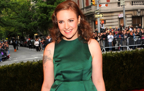 entertainmentweekly:  What's Lena Dunham so happy about? Oh, no big deal — she just landed a $3.5 million book deal, that's all. Three point five MILLION DOLLARS. Hannah Horvath would be seething with jealousy right now.