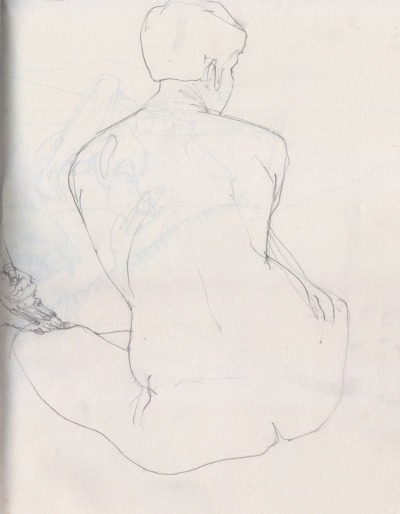 playinprogress:  I'm part of a life drawing group here in Berlin and we're always looking for people to join us. We meet once a week from 10:00 to 13:00 in Kreuzberg near Oranienstraße, the fee is 7 € per session to pay for the model. We work independently without instruction. We're usually between 5 and 10 people and start with short poses (1–8 minutes), and then work our way up to 30 minute poses, with a small break somewhere in the middle of the session. If you'd like to join us, message me and I'll send you the exact address.