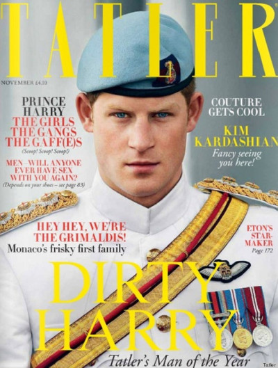 Prince Harry named Tatler's Man of the Year
