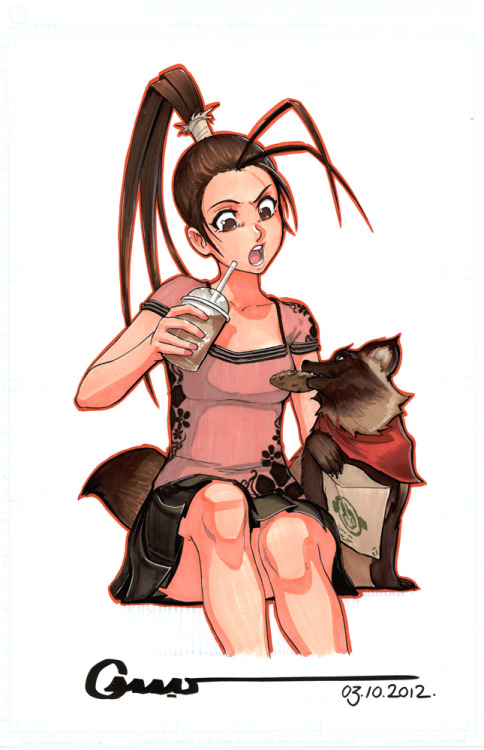 Ibuki and Don // by Omar-Dogan