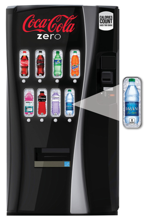 usatoday:  Coming soon to a soda (or pop, depending on your address) machine near you: calorie counts. Story: http://usat.ly/QPmlwH (Photo: Coca-Cola via AP)  Good idea but I don't think this will change anything. What do you think?