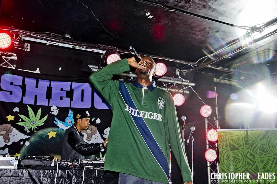 "LNDL Raps opening up the ""He Has Risen"" tour for Smoke DZA & FlatBush Zombies"