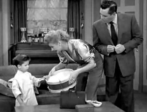 ilovelucyball:  I Love Lucy on this Day: Season 6 Episode 2- Little Ricky Learns to Play the Drums Aired October 8, 1956