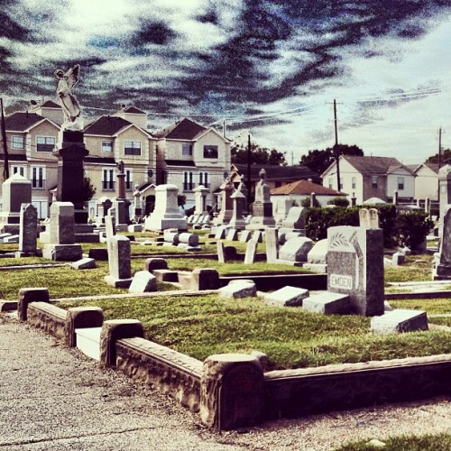 #Future #Zombies #Disrespectful (Taken with Instagram at Founders Memorial Cemetery)