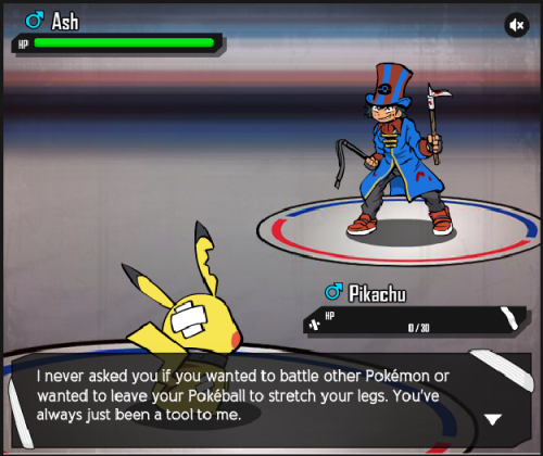 japaneesee:  Fun fact: Ash has never, not even once, put Pikachu back in his Pokeball in 700+ episodes, 15 movies, and 50 or so specials. That's around 15 years. 5 regions, the Orange Islands, and the Battle Frontier. 44 or so gyms, 5 Pokemon League Tournaments. Not even once. Fun fact: Ash has asked Pikachu countless times if he wanted battle or not. Fun fact: Ash, as well as many other characters, has stated on numerous occasions that Pokemon are friends, not tools.  ^^^ Proof Peta hasn't even watched a single god damned episode of Pokemon.