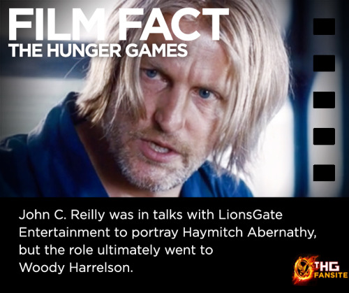 The Hunger Games Film Fact #3