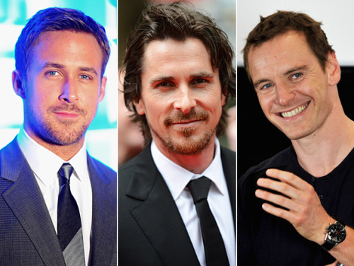 vh1:  Ryan Gosling, Christian Bale and Michael Fassbender all in the same movie? Thank you Terrence Malick!