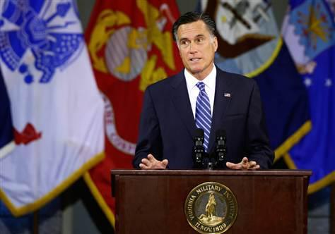 Romney: Risk of conflict higher in Mideast after Obama policies (Photo: Charles Dharapak / AP) Mitt Romney accused President Barack Obama of leading a rudderless foreign policy, saying Monday that the threat of conflict in the Middle East is greater than it was four years ago. Read the complete story.