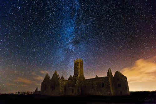 Ross Errilly Friary at Headford, Ireland by conor ledwith