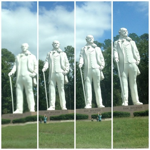 #SamHouston (Taken with Instagram at Walker County Line)
