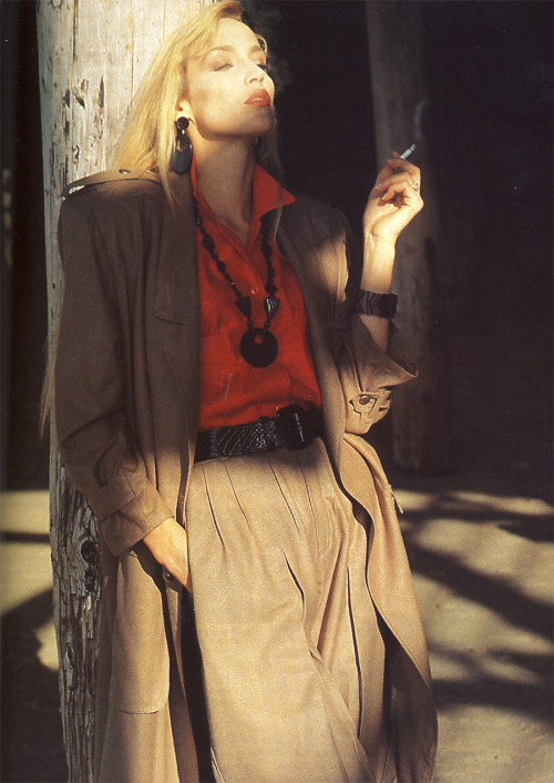 Vogue Paris May 1987 Model: Jerry Hall