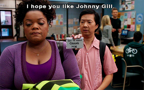 remember when Chang wanted to be with Shirley?