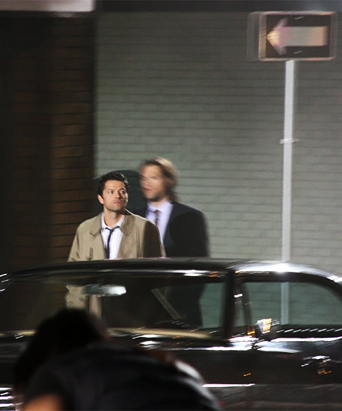 Supernatural set pictures