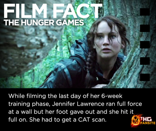 The Hunger Games Film Fact #10