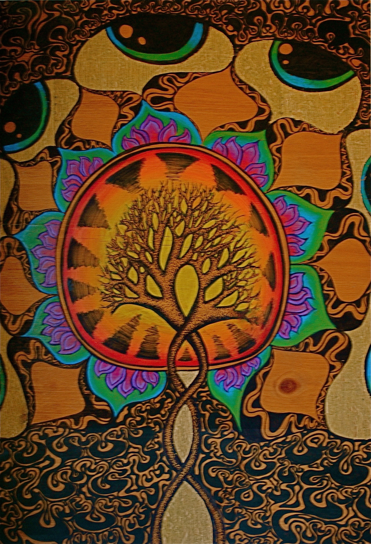 mentalalchemy:  alexhillchill submitted: DNA tree of life
