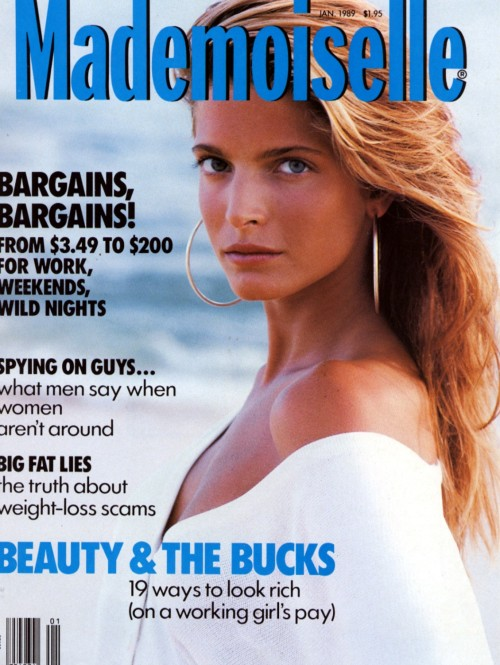 Mademoiselle January 1989 Model: Stephanie Seymour