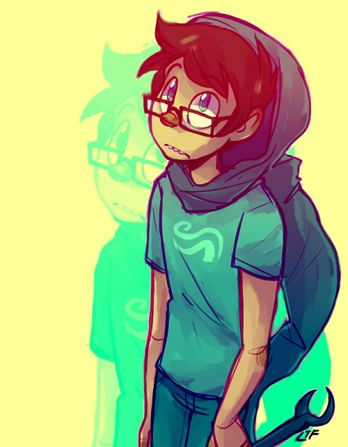livethefaggotry:  JOHN LOOKS SO ANIME.  wow SAI sure makes pretty colors.