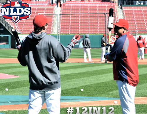 Catch your Cardinals as they square off with the Nats in Game 2 of the NLDS at 3:30 CT on TBS. Let's go Cardinals!