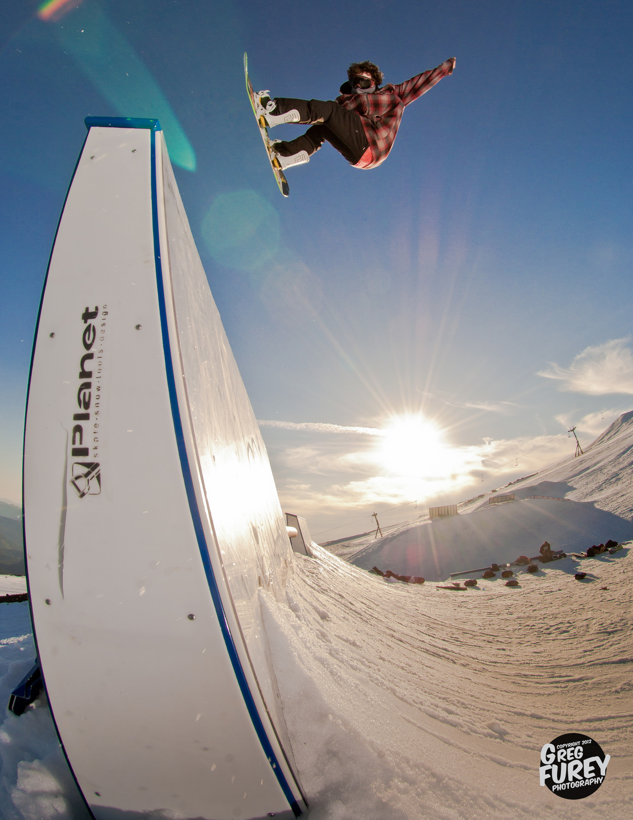 fysnowboarding:  Johnny O'Connor. Photo: Greg Furey