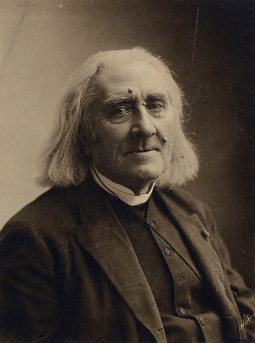 Oct. 22, 1811 was the birthday of Hungarian pianist and composer Frantz Liszt (d. 1886). The epitome of the Romantic artist, Liszt dominated central European musical life for 5 decades in the mid-19th Century… Photo: Nadar, March 1886