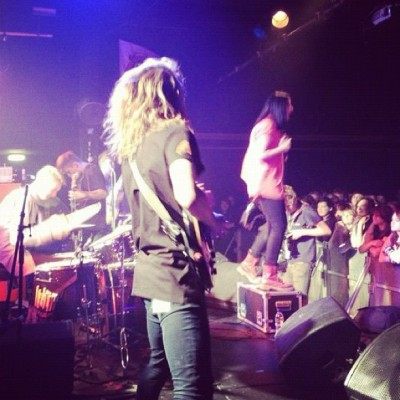 It begins! @marmozets tearing it up! (Taken with Instagram)