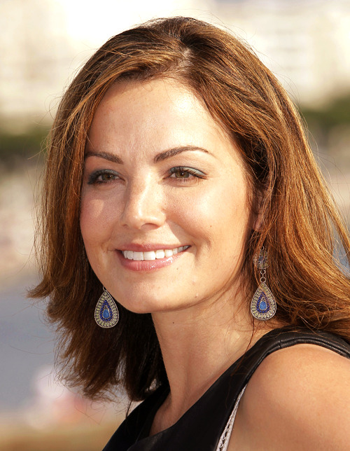 Erica Durance at MIPCOM 2012. Cannes, France. (x)