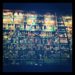 #paddys #drinks #alcohol #bottles #light #latenight #offwodk #bar #friends #tequija. #portland #portlandia c (Taken with Instagram at Paddy's Bar & Grill)