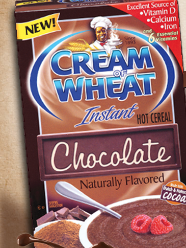 Cream of Wheat is giving away 10,000 samples of Cream of Wheat Chocolate a day to their fans on facebook! There's no more left for today, but be sure to go here tomorrow and get your free sample!