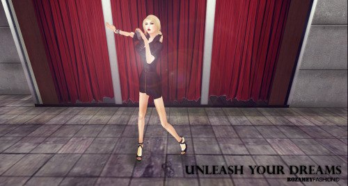 UNLEASH YOUR DREAMS IN SECOND LIFE