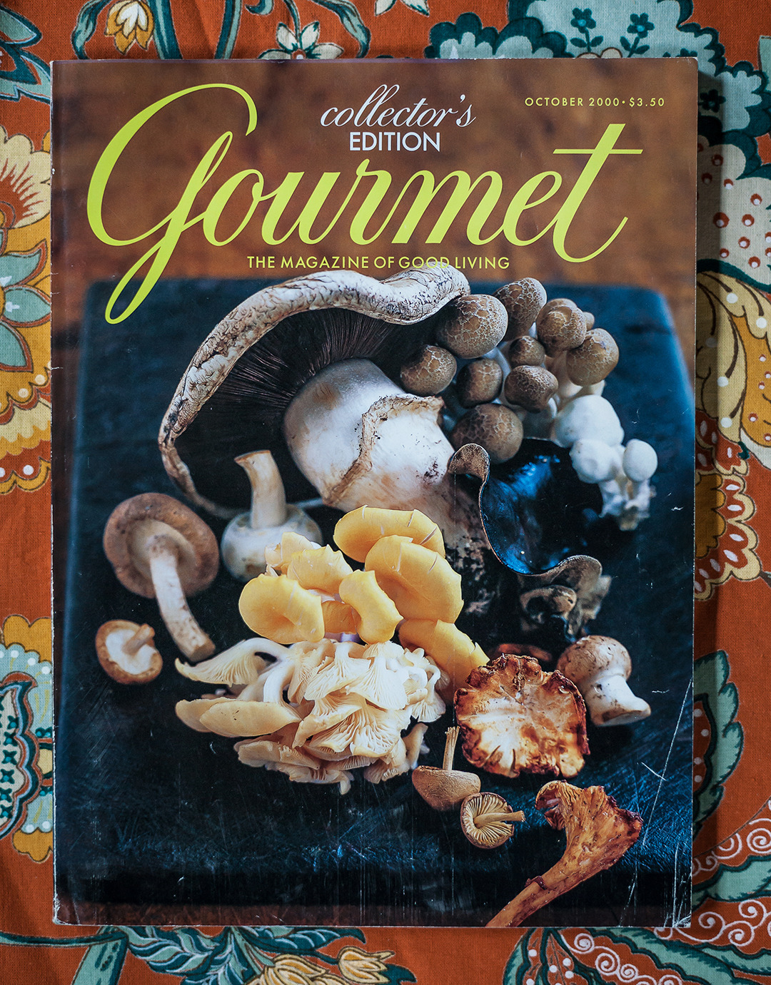 Gourmet: October 2000