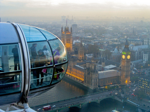 View from the London Eye on Flickr.