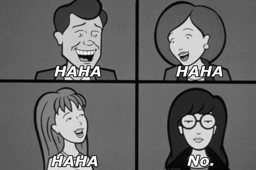 hunnyp0t:  I'm the Daria in my family.