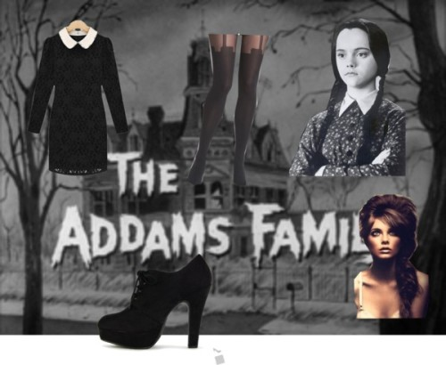 CHARACTER WEAR: WEDNESDAY ADDAMS A great way to bring out your inner goth during the month of October is to take some cues from Wednesday Addams.  http://thecarbonmagazine.com/2012/10/character-wear-wednesday-addams/#