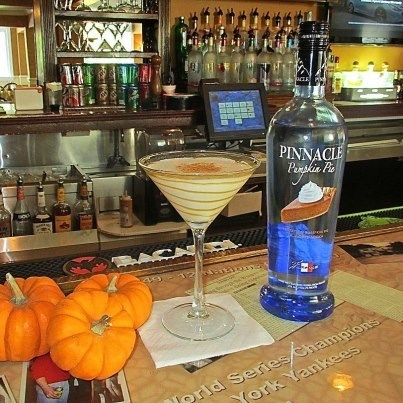 Pumpkin Pie Vodka of the Day: Sure, why not — 'tis the season. From the makers of Jim Beam. [dailymeal]