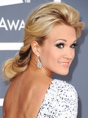 """It makes the rest of me look smaller.""  - Carrie Underwood, on why she loves her big country hair, to PEOPLE"