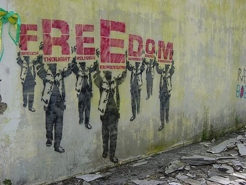 taskunrelatedthought:  What does freedom mean to you?
