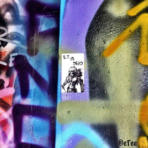 #ETisDEAD #eTee #predator #slaps #slap #streetart #streetarteverywhere #primaryflight #abandoned #building #warehouse #penit  #abandonedwarehouse #warehouseadventures #wynwoodpenit #wynwoodartdistrict #wynwood #miami #305  (Taken with Instagram at Wynwood Arts District)