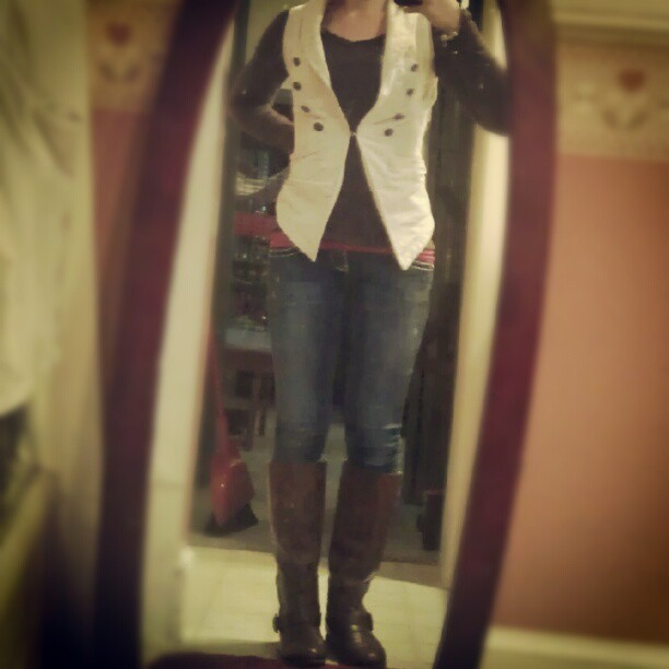 I love my outfit today. (Taken with Instagram)