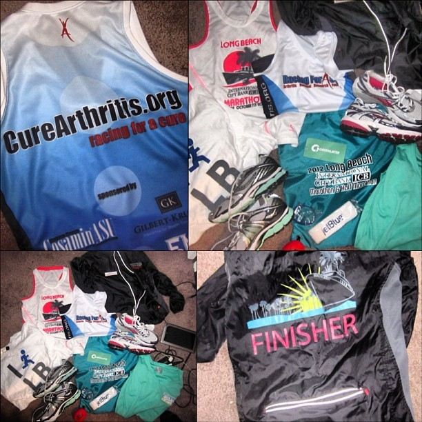 DONATE MONEY TO CURE ARTHRITIS @curearthritis.org perks of my job💖 sometimes i love it. tho i don't even like running/workingout! $500 worth of gear!! 🏆👟👠🎽#IRUNFORTHECUREOFARTHRITIS #allkindsofarthritis #teamrunforacure #freebies #philanthropy  (Taken with Instagram)