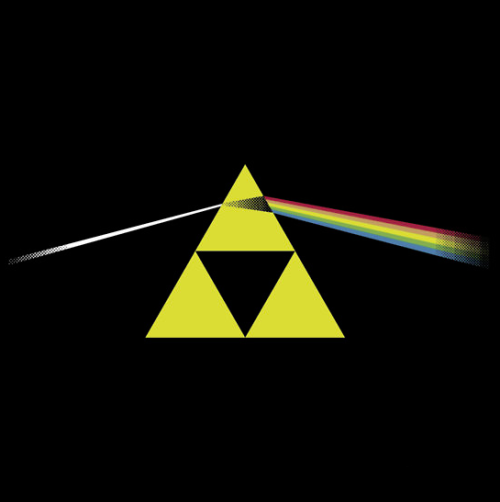 insanelygaming:  The Dark Side of the Triforce Created by Ted Dastick Jr. Available on Redbubble