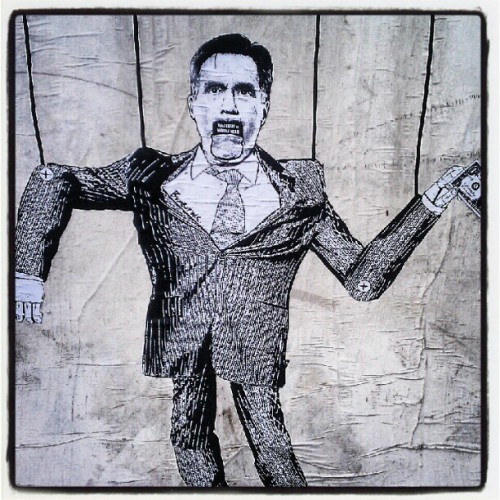 #Mitt #Romney #puppet #chump #republican  (Taken with Instagram)