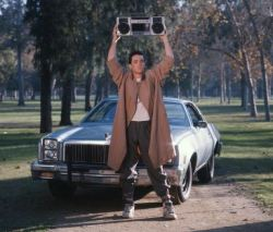 growyourbeauty:  John Cusack holding a boombox in Say Anything (1989)