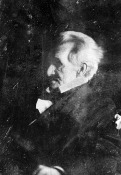 Daguerrotype of Andrew Jackson, possibly taken by Edward Anthony, April 1845 {x}