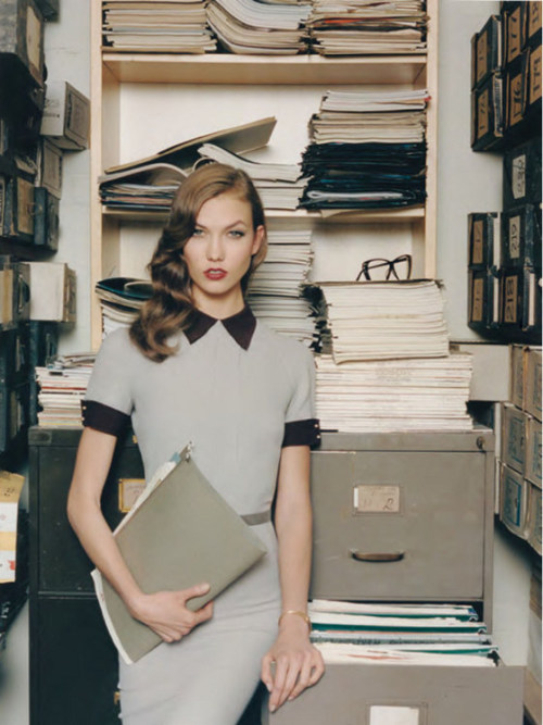 karlie kloss by venetia scott