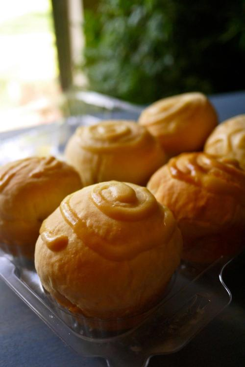 mini custard bread